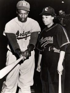 Jackie Robinson + Connie Morgan