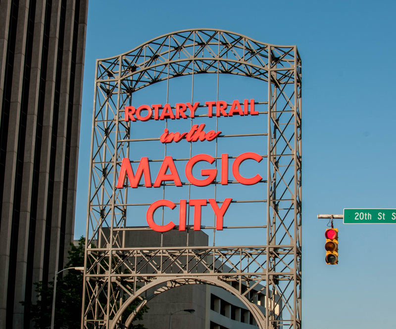 Rotary Trail in the Magic City